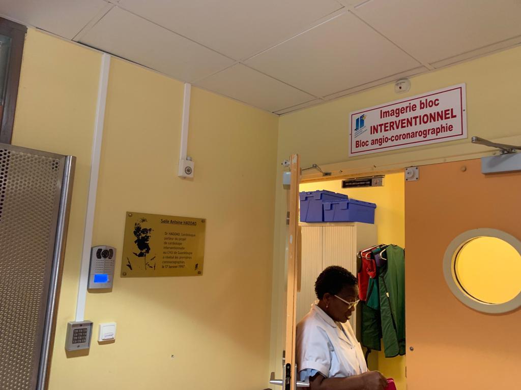La salle de coronarographie réouverte aux patients