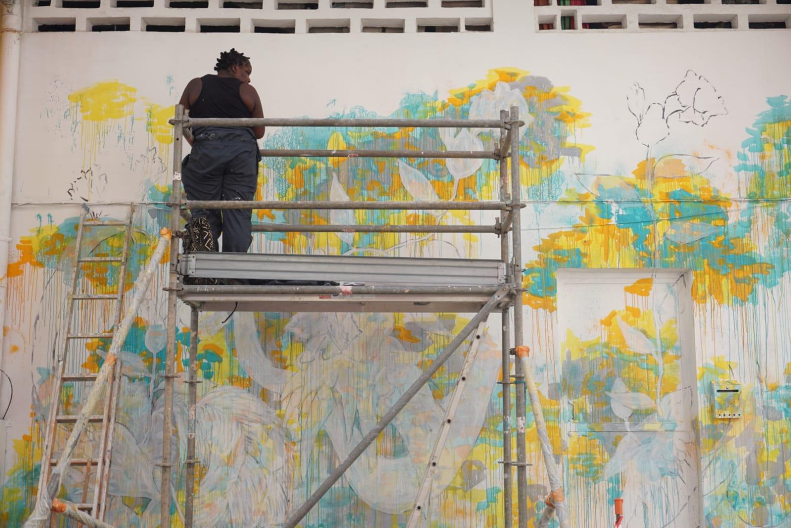 Le 8ème festival international d'art mural est à Fort-de-France