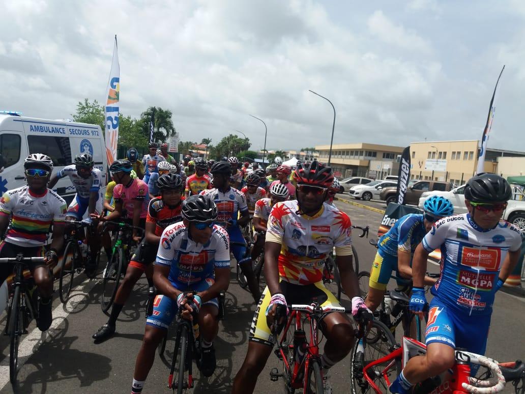 Michaël Stanislas remporte la dernière course avant le tour cycliste de Martinique