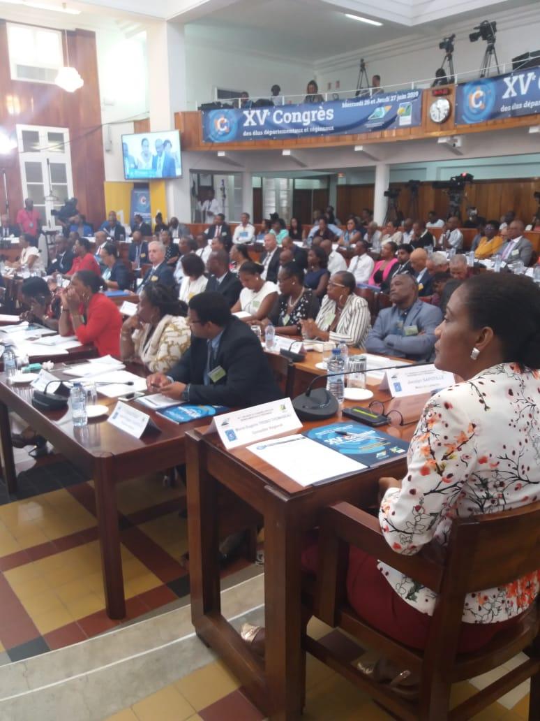Le 15ème congrès des élus interrompu par le syndicat des petits planteurs