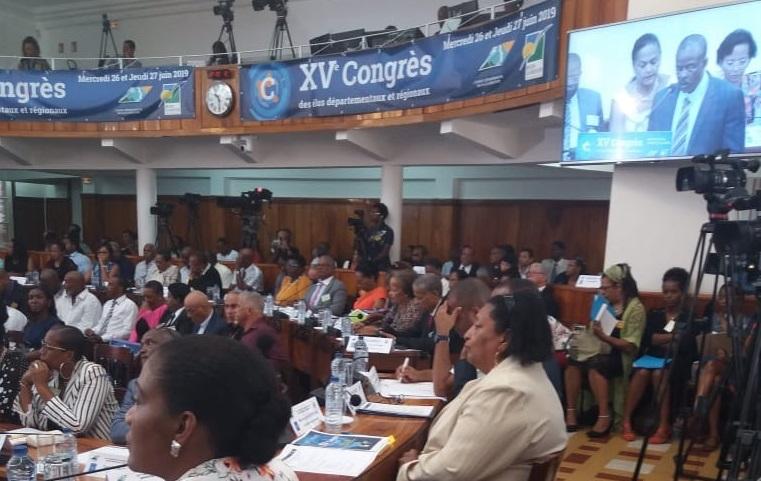Les résolutions adoptées au congrès des élus
