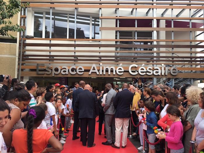Un nouvel espace Aimé Césaire inauguré