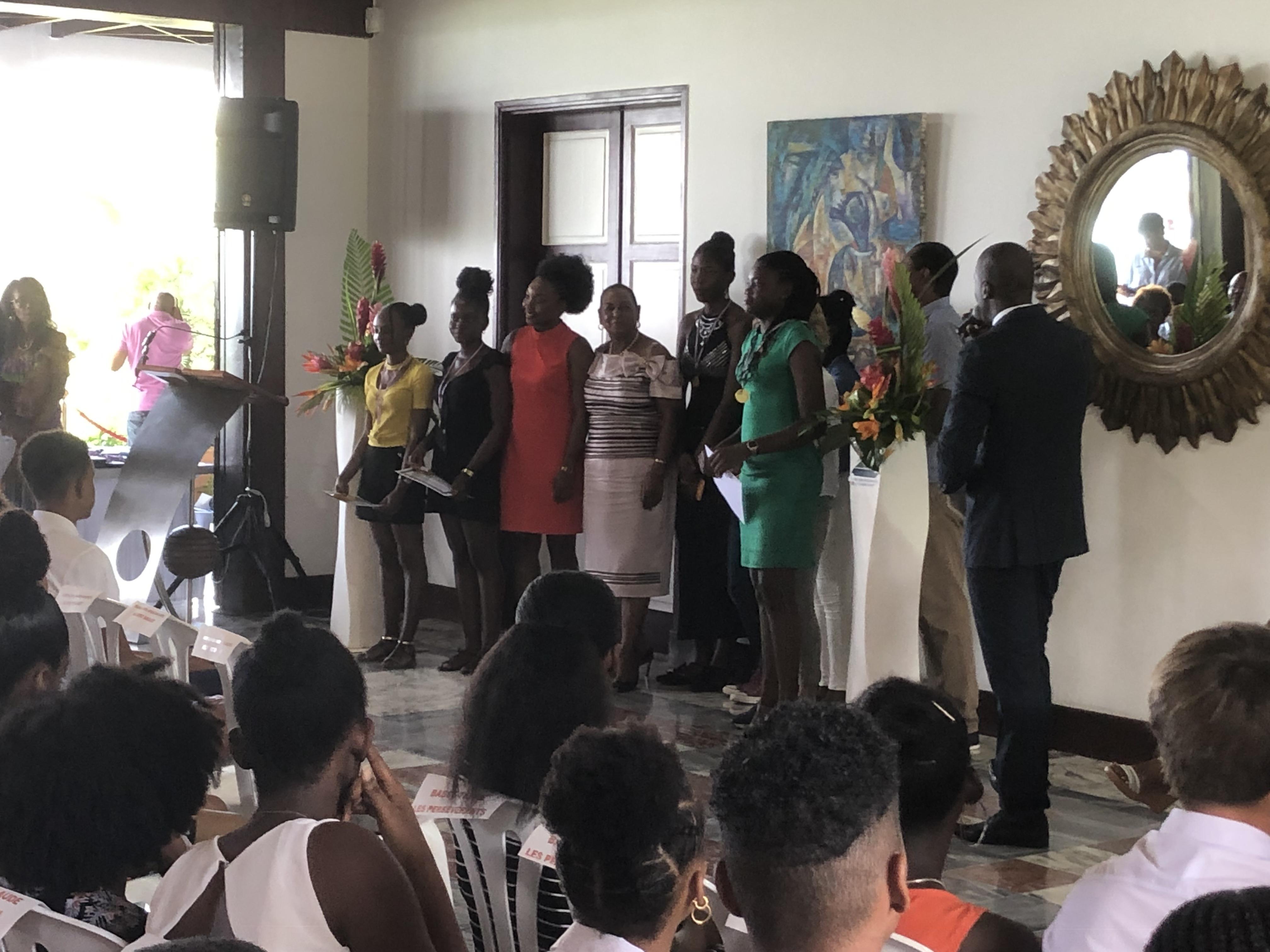Le Conseil Départemental récompense les meilleurs collégiens de Guadeloupe