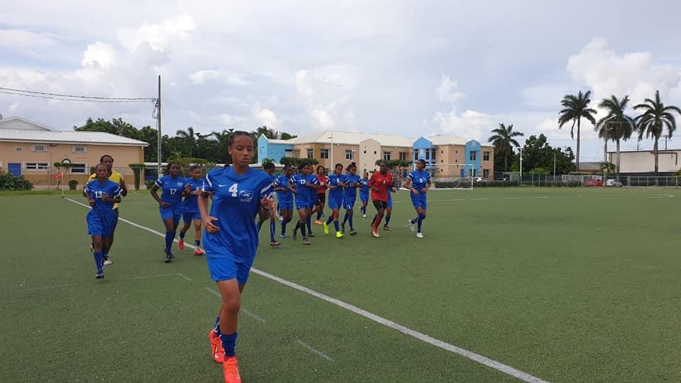 La sélection féminine des U17 débute la phase de qualification au tournoi de la Concacaf
