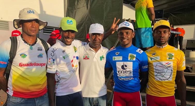 La sélection guadeloupéenne brille au Tour de Guyane