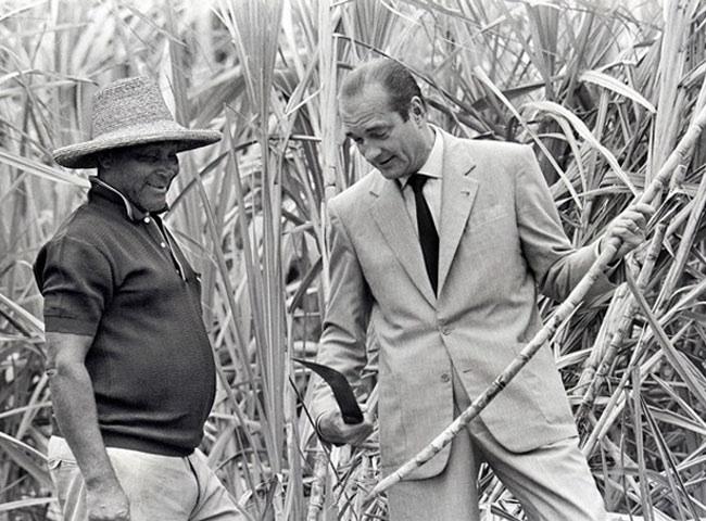 Chirac et les Antilles