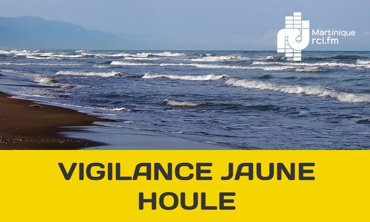 La houle menace le Nord Caraïbe : la Martinique placée en vigilance jaune