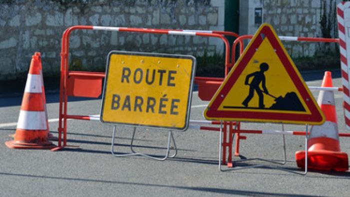 La RD 26 fermée à Basse-Terre