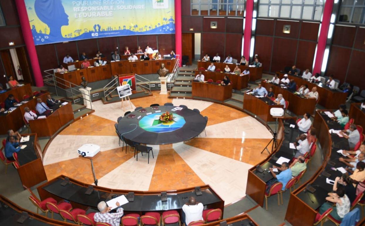 Conseil Régional : le Budget primitif 2021 a été  voté