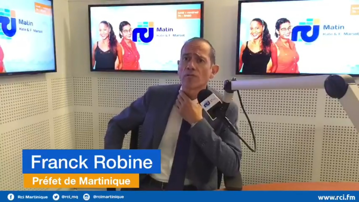 Franck Robine le Préfet de la Martinique s'exprime à son tour suite aux incidents à Fort-de-France