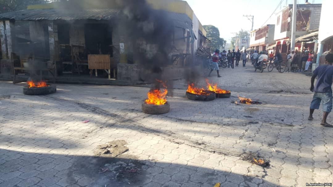 Haïti : manifestations de l'opposition pour le départ du président Jovenel Moïse