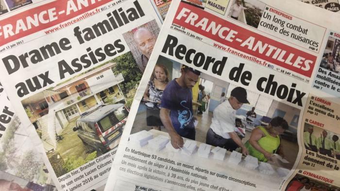 Une levée de fonds dans l'espoir de sauver le quotidien France-Antilles