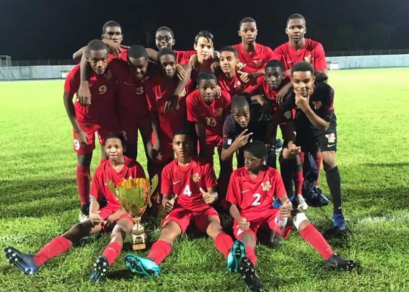 Les petits Gwada Boys remportent le Mémorial Claude Élise