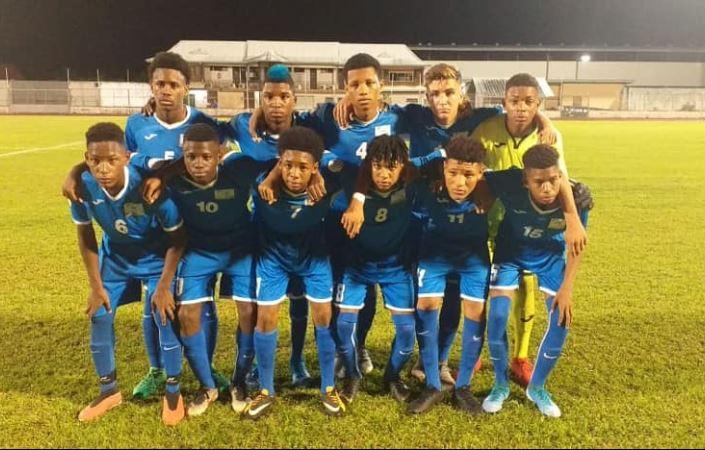 Mémorial Claude Elise : les moins de 15 ans battent la Guyane aux tirs aux buts