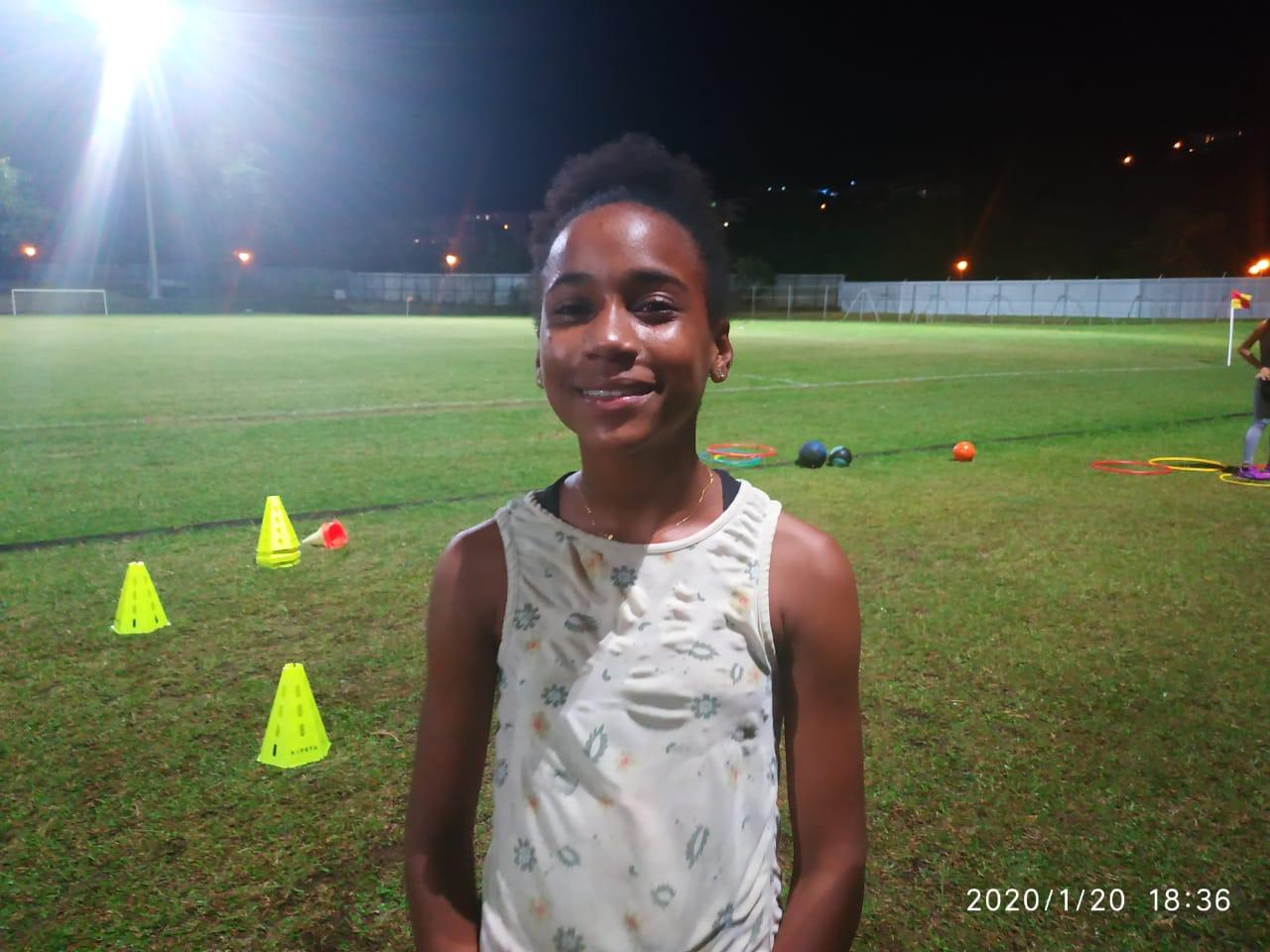 Portrait du jour : passionnée d'athlétisme, Chloé Garni est mise à l'honneur