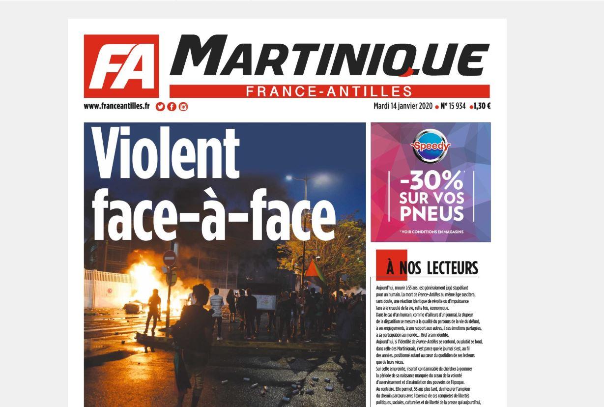 L'avenir de France-Antilles se joue devant le tribunal