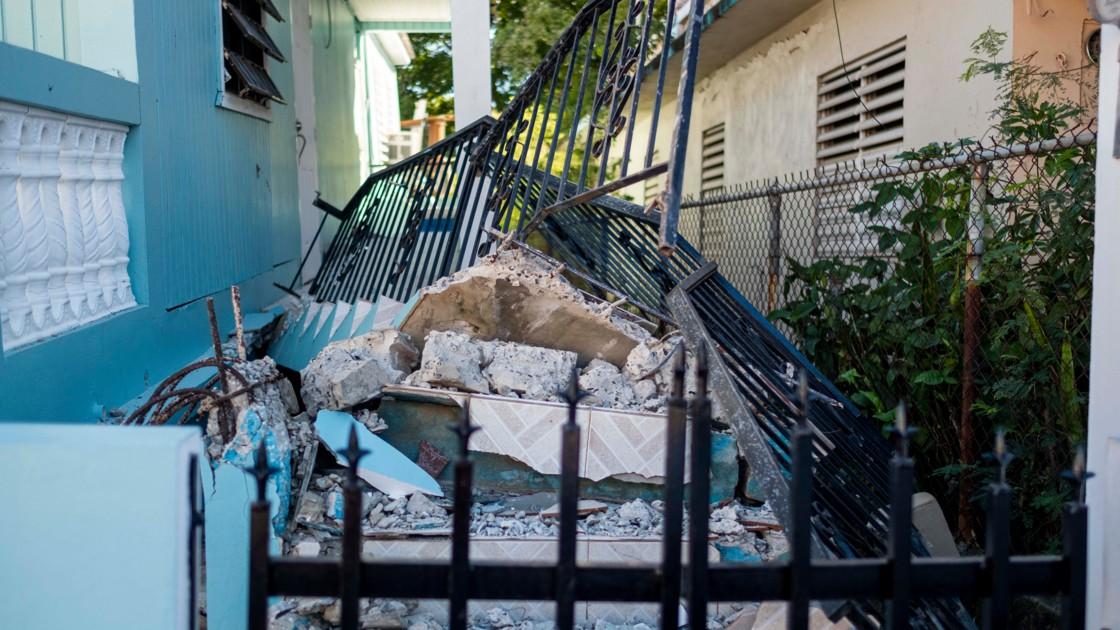 Un nouveau séisme frappe l'île de Porto-Rico
