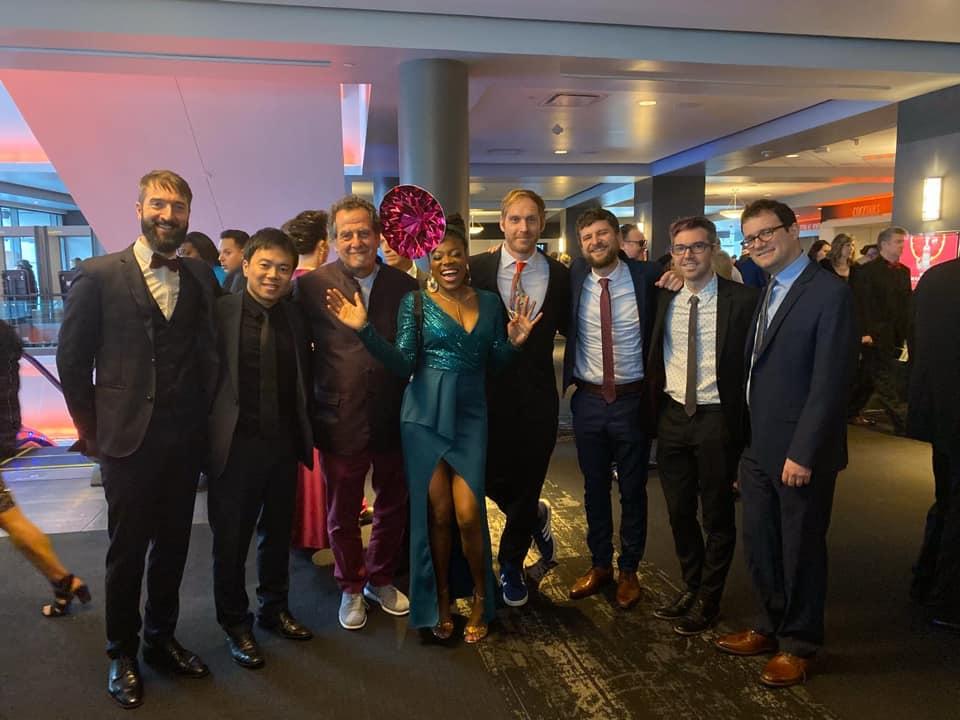 Malika Tirolien aux Grammy Awards