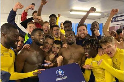 Mickaël Biron et Epinal se qualifient pour les 16e de finale de la coupe de France
