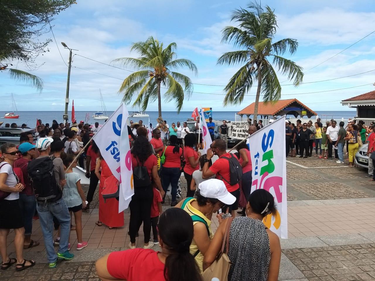 Réforme des retraites : le Nord caraïbe mobilisé en masse