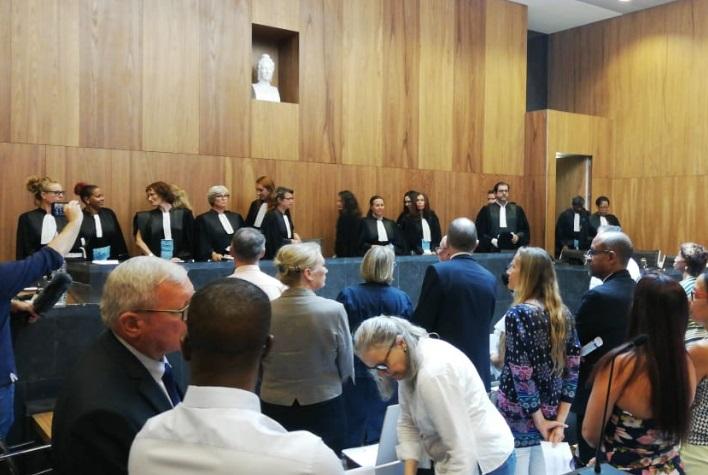 Palais de Justice : une nouvelle présidente et un nouveau procureur