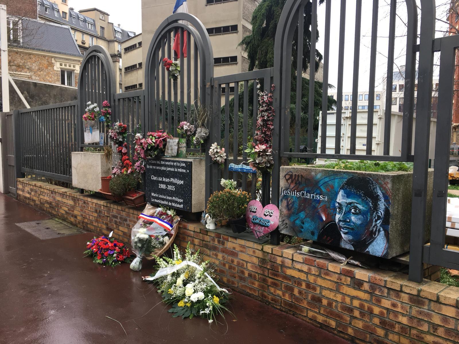 Hommage à Clarissa Jean Philippe cinq ans après les attentats de Paris