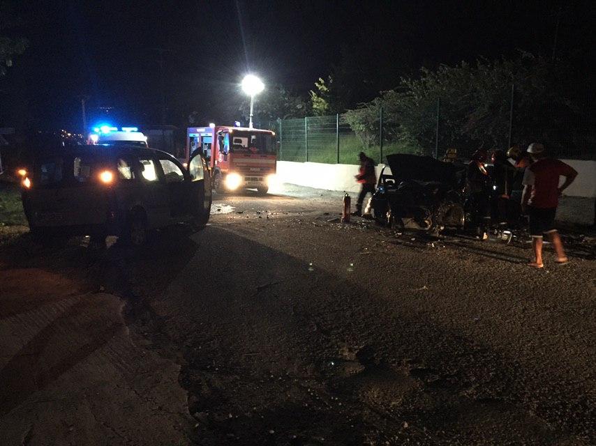 Un accident au Prêcheur fait deux blessés