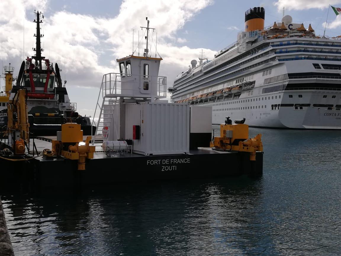 Steady et Zouti  : les deux nouveaux atouts du port de Fort-de-France