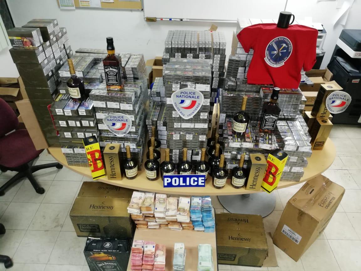 Trafic de cigarettes : près de 400.000€ saisis et le gérant d'épiceries interpellé