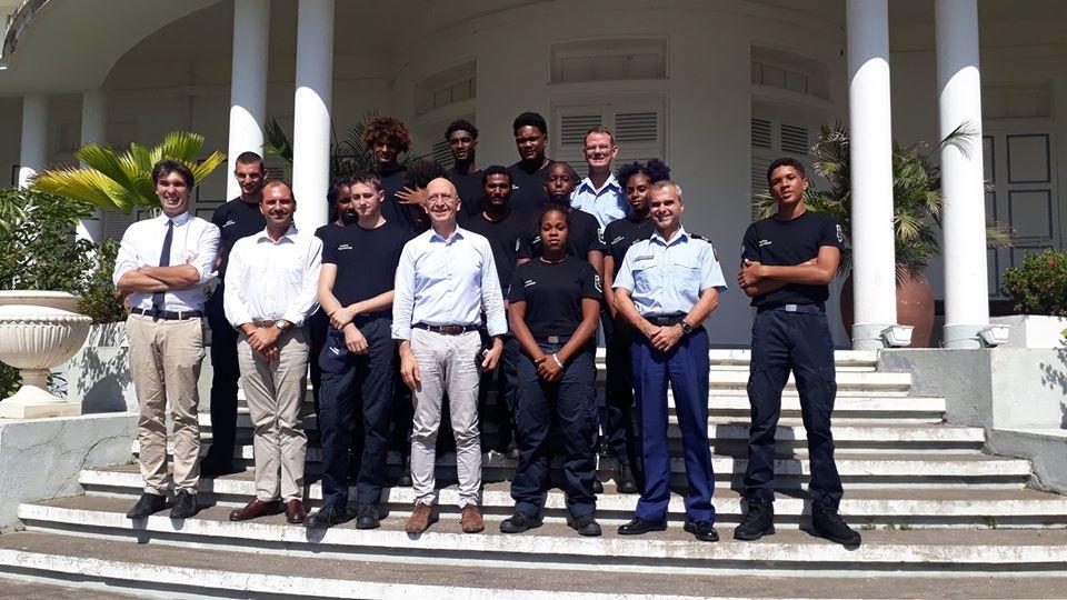 Les Cadets de la gendarmerie ont rencontré le Préfet de Région