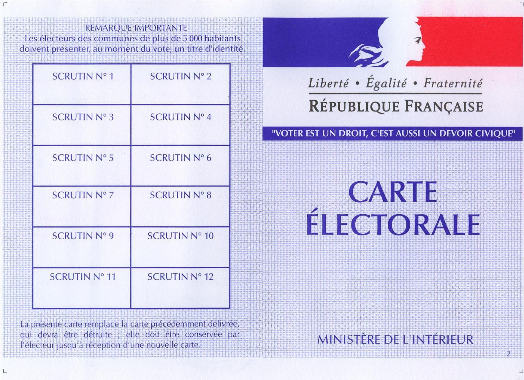 Dernier jour d'inscription sur les listes électorales