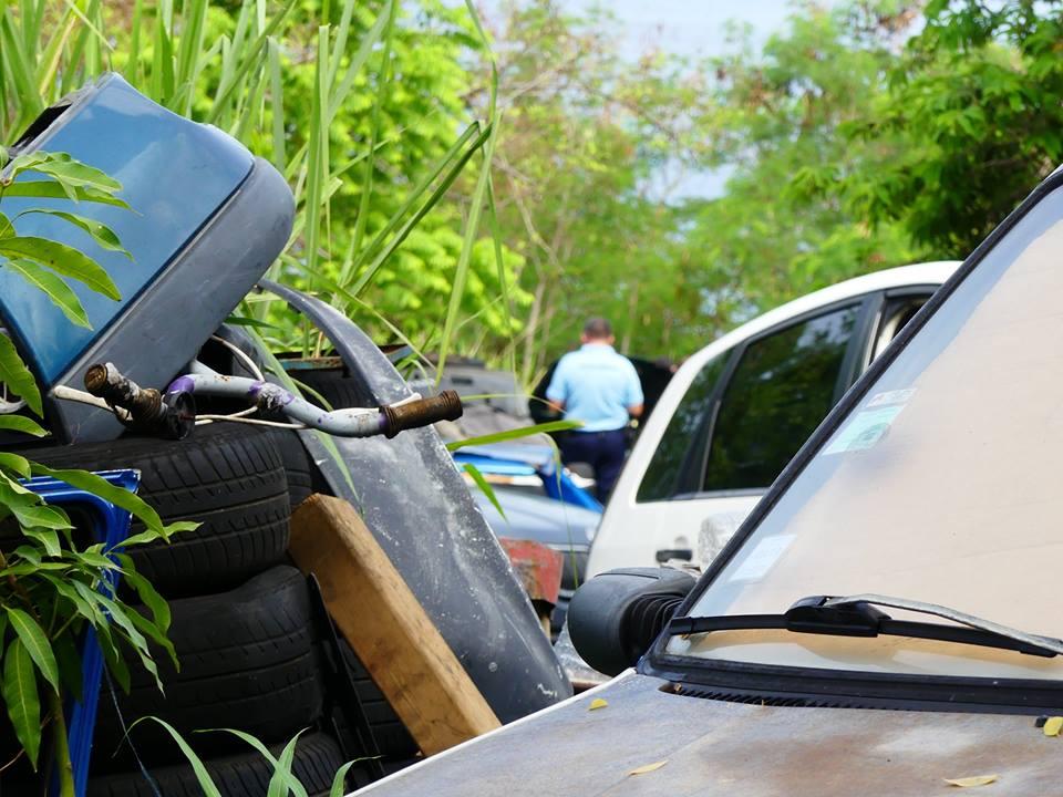 59 épaves retirées à Vieux-Habitants : des amendes et des poursuites