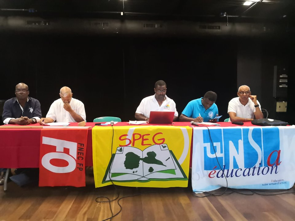 L'intersyndicale SPEG FO UNSA suspend la grève