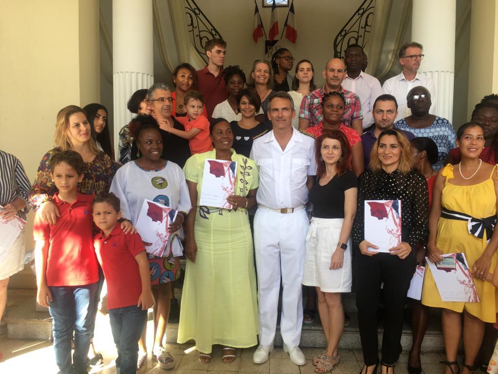 55 nouveaux citoyens français accueillis à la préfecture
