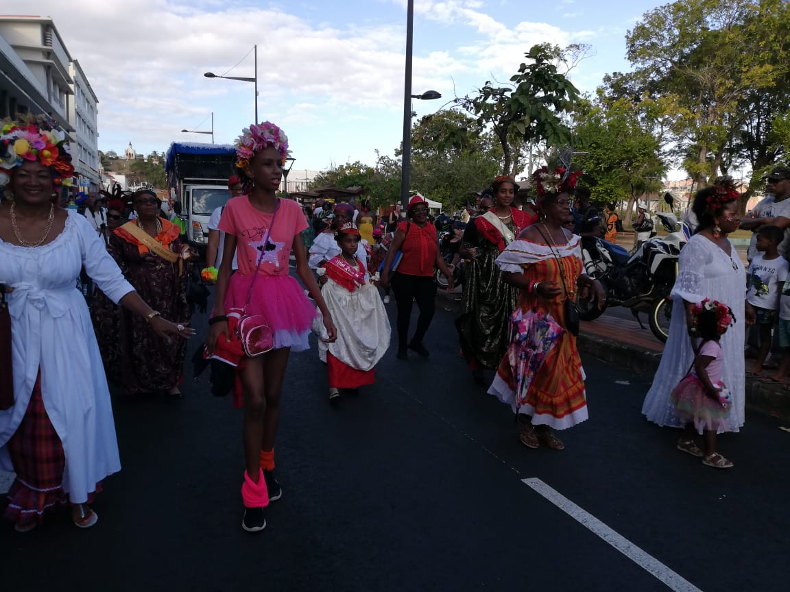 Sortie officielle pour les reines du carnaval