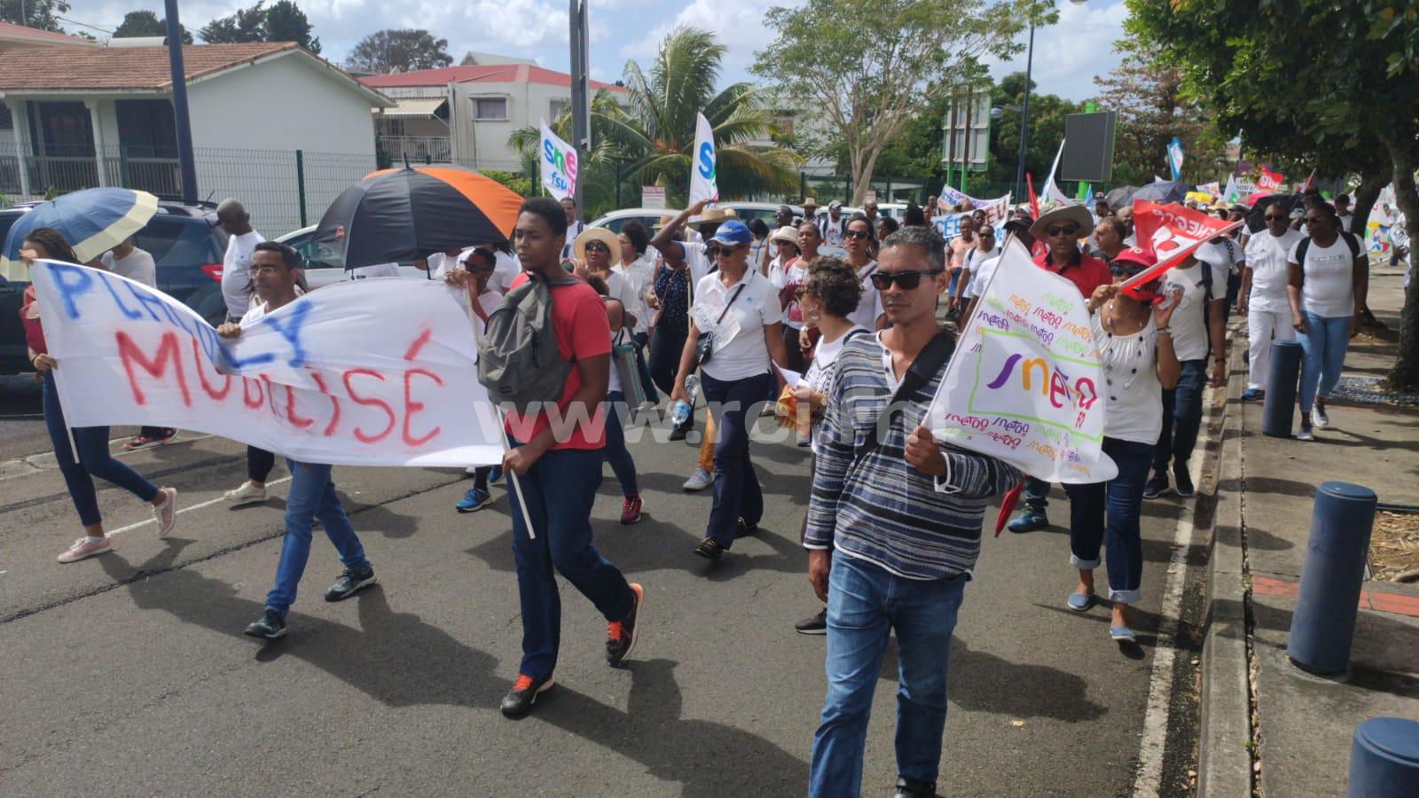 200 professeurs mobilisés ce matin contre la réforme des retraites