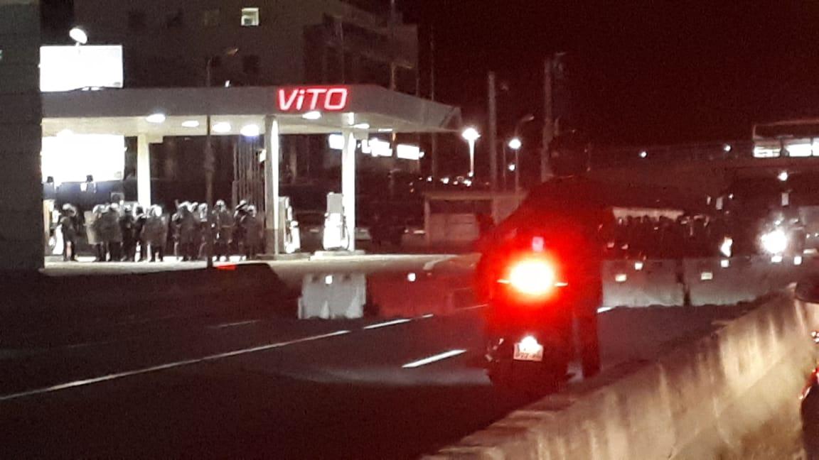 La tension persiste aux alentours de l'Aéroport Aimé Césaire ce samedi 29 février