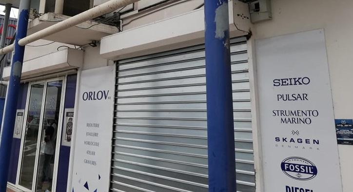 Victime d'une cinquième attaque : la bijouterie Orlov de Jarry ferme