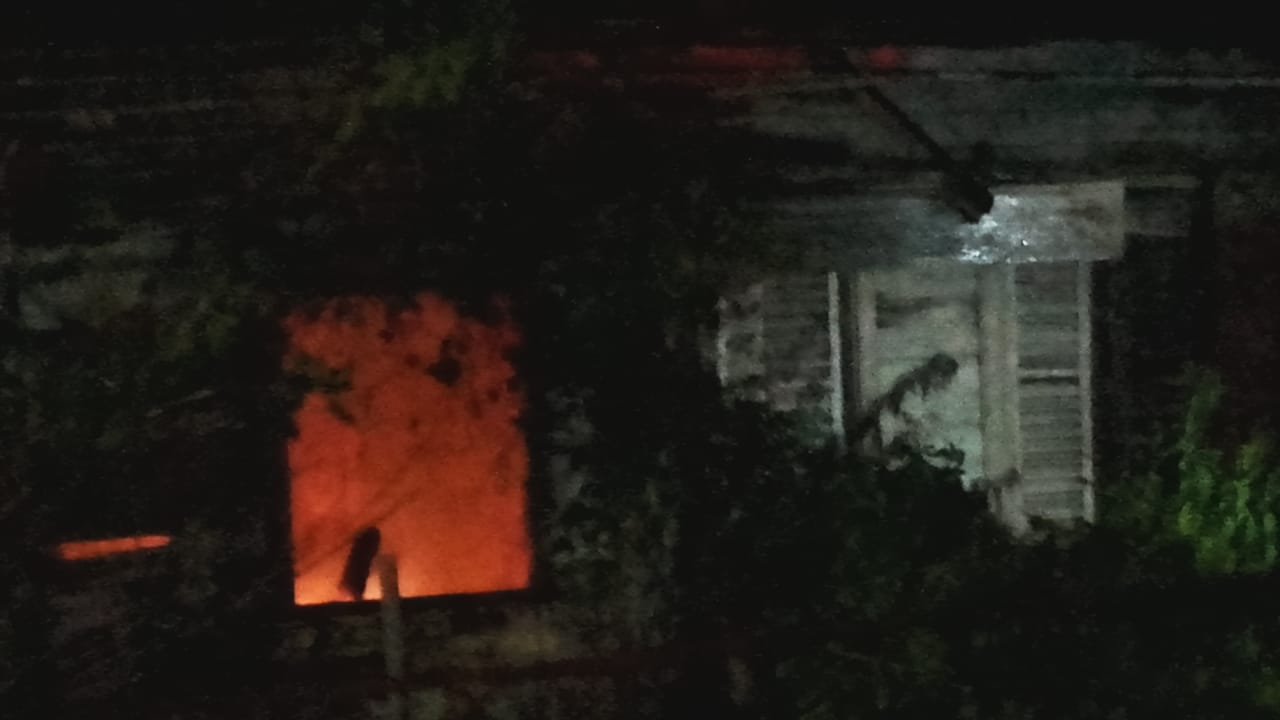 Incendie d'une maison à Fort-de-France