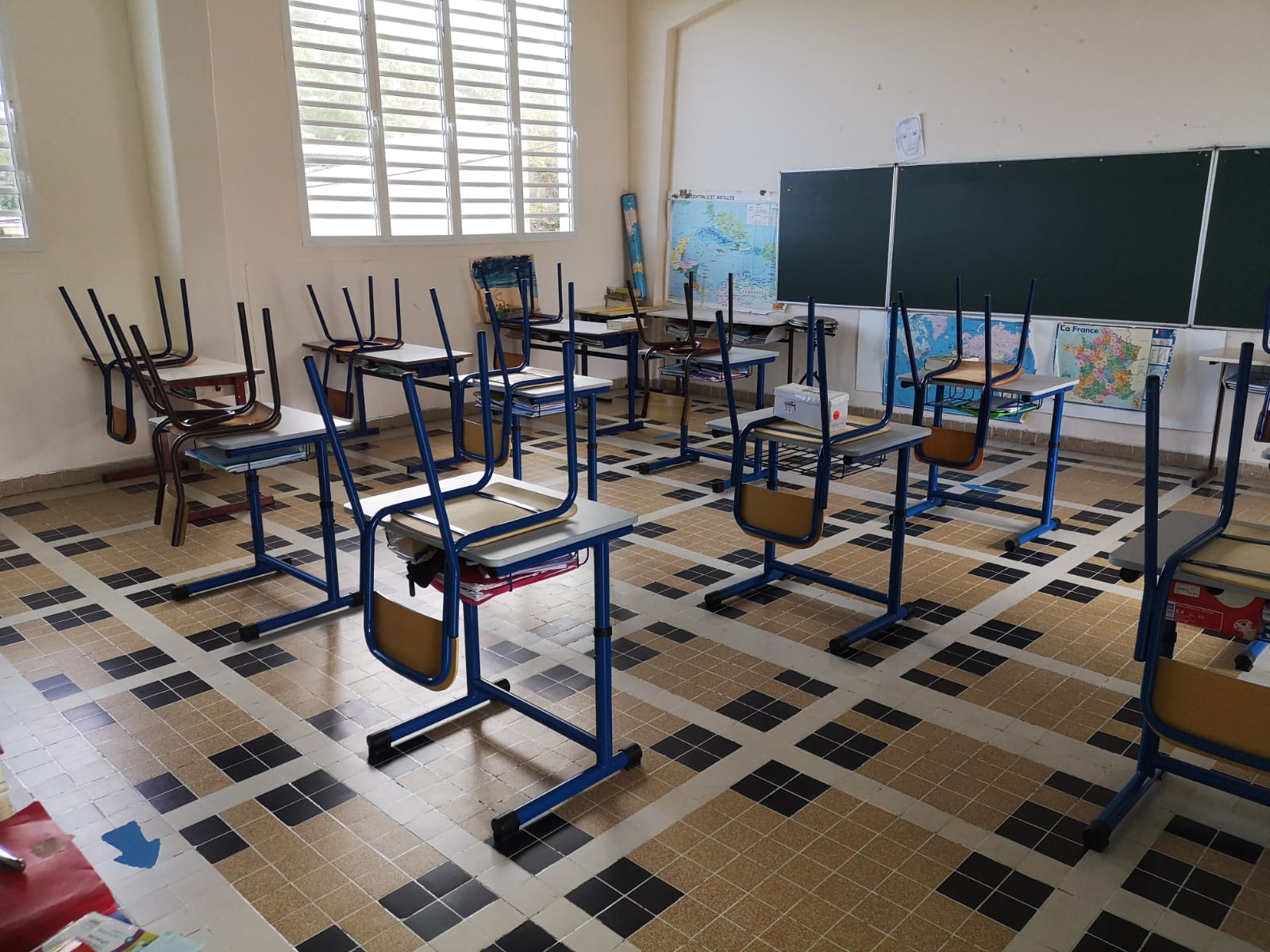 Ecoles fermées dans plusieurs communes de Martinique