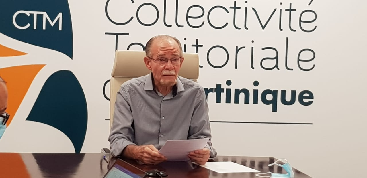 Reconfinement : Alfred Marie-Jeanne dénonce une décision unilatérale de l'Etat