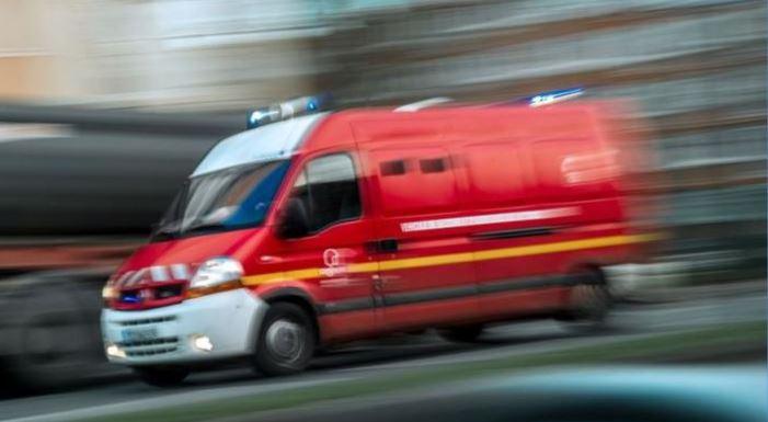 Accident entre un BHNS du TCSP et une voiture au Lamentin