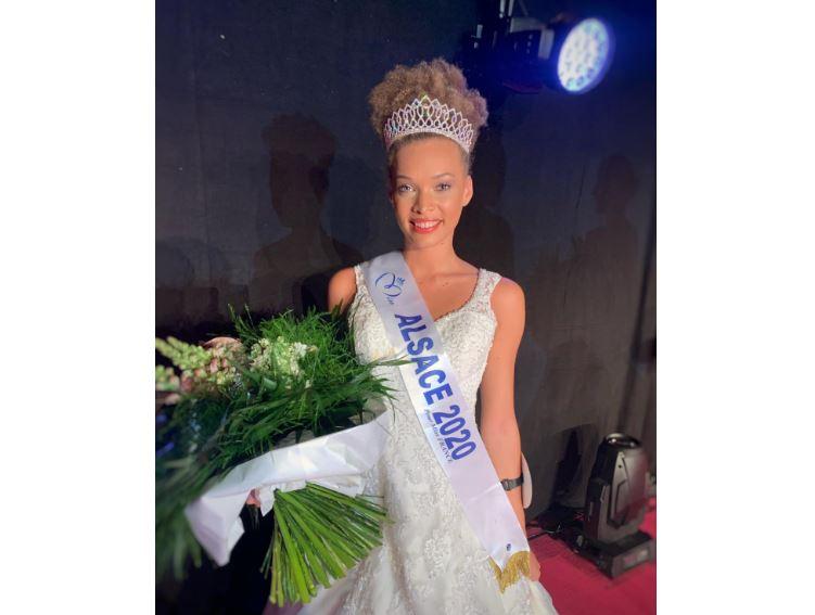 Aurélie Roux, Miss Alsace 2020, a des origines martiniquaises