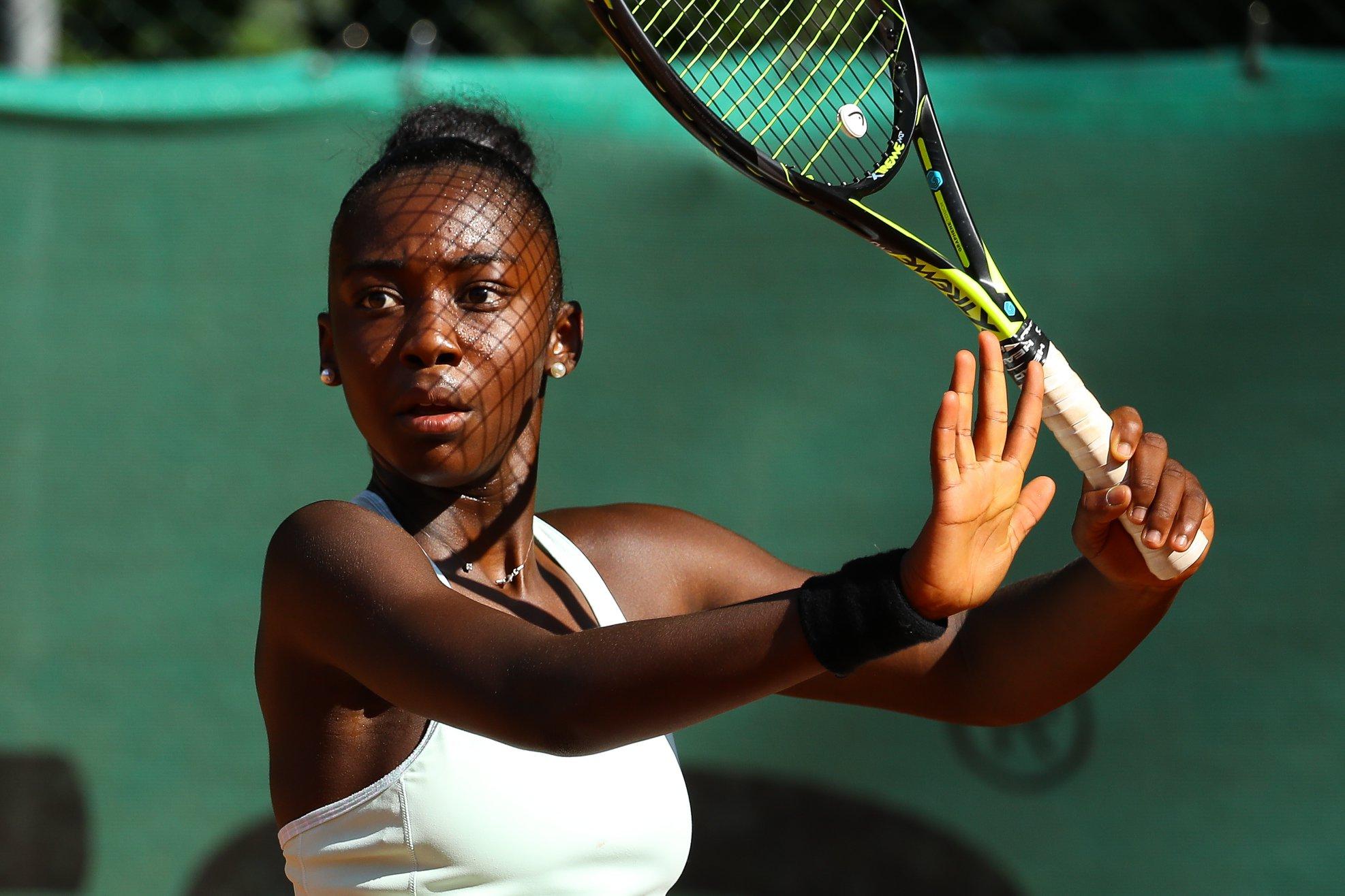 La Guadeloupéenne Océane Babel en quart de finale de Roland Garros