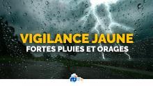Précipitations : la Guadeloupe placée en vigilance jaune