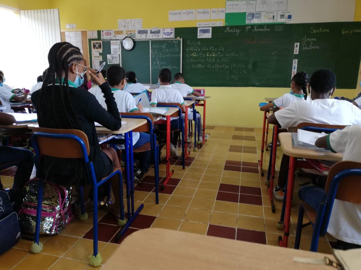 Réouverture des écoles à Schoelcher