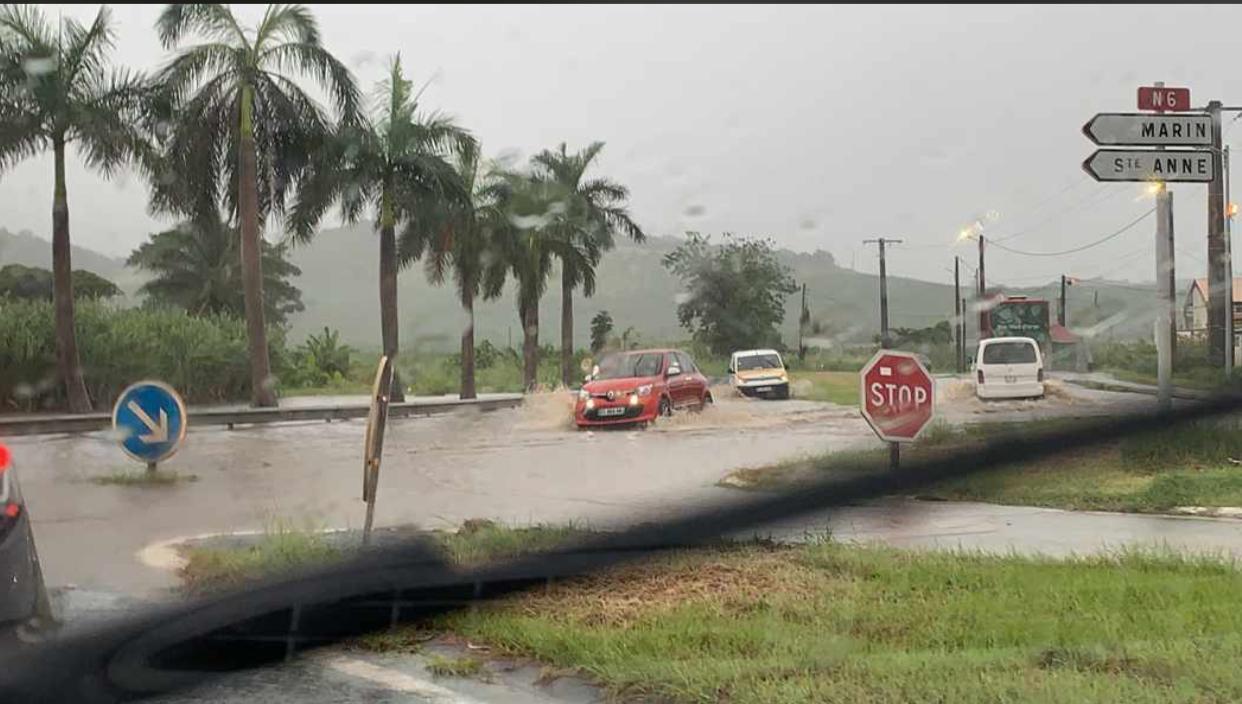 Vigilance orange : inondations dans plusieurs communes de Martinique