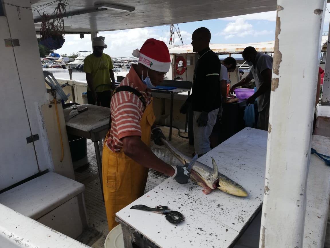 Les marins pêcheurs sont en conflit avec les affaires maritimes