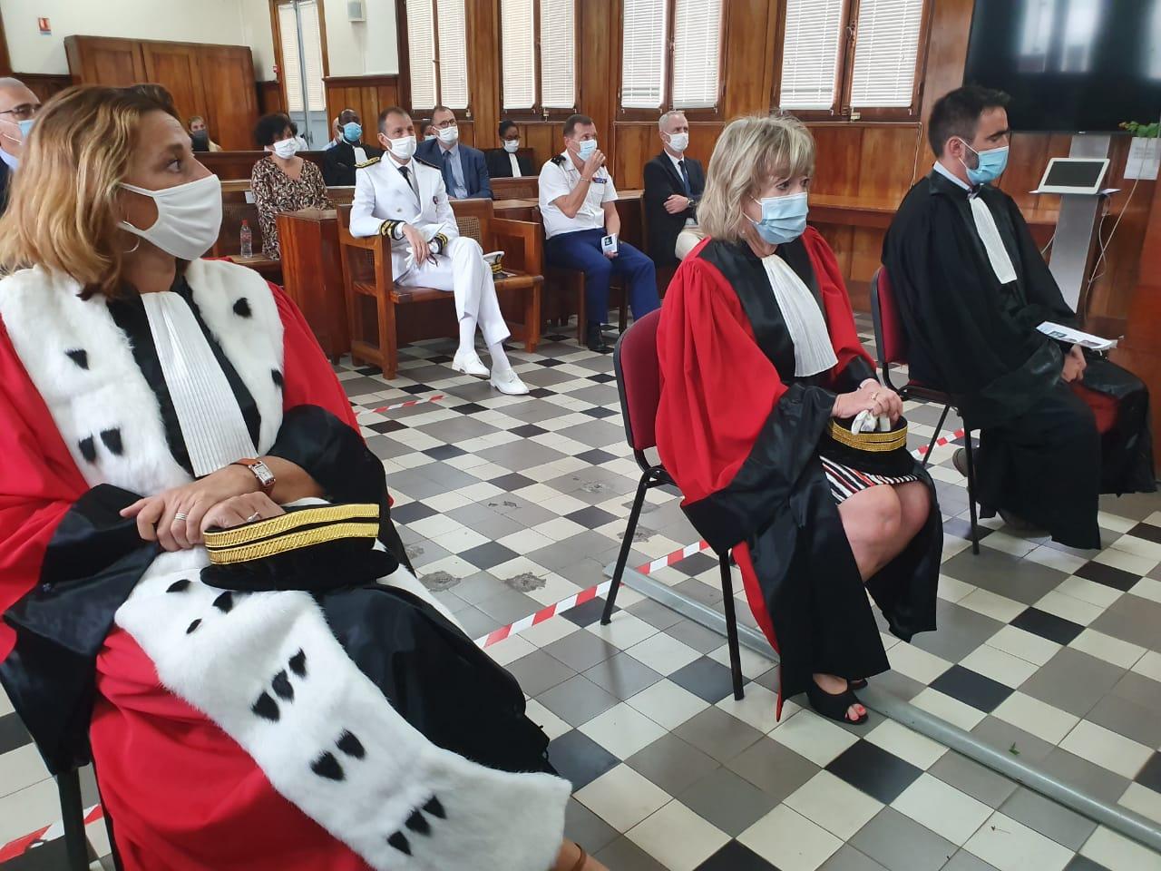 La Cour d'Appel fait sa rentrée solennelle