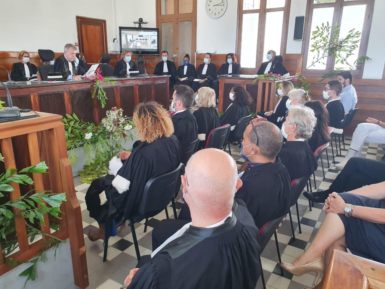 Le tribunal judiciaire de Basse-Terre a fait sa rentrée